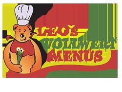 Vollwertmenüs Kindergarten Catering Logo